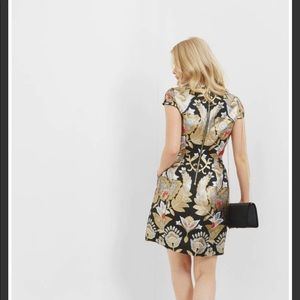 Ted Baker Imoen Opulent Orient Mini Dress Size 1